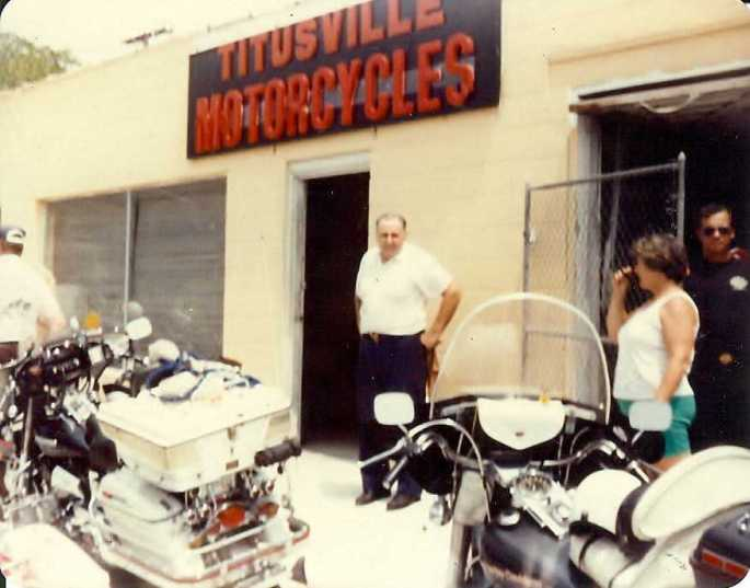 Forrest Fernaays owner of Titusville Motorcycles